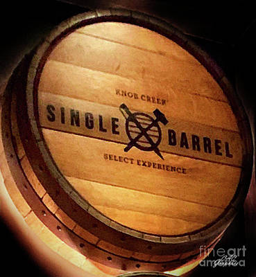 Photograph - Knob Creek Barrel by CAC Graphics