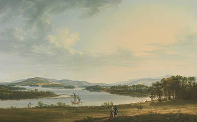 Painting - Knock Ninney And Lough Erne From Bellisle, County Fermanagh, Ireland by Thomas Roberts
