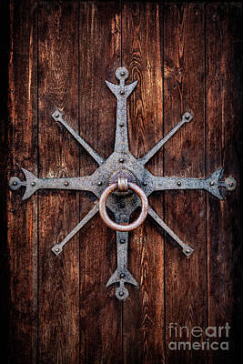 On Trend Light And Airy Royalty Free Images - Knocking On Forbidden Doors Royalty-Free Image by Evelina Kremsdorf