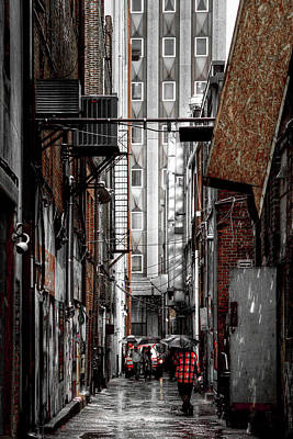 Photograph - Knoxville Alley by David Patterson