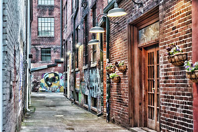 Photograph - Knoxville Alleyway by Sharon Popek