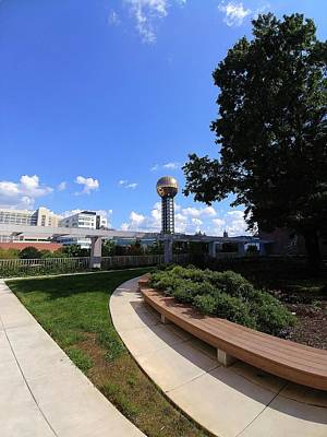 Photograph - Knoxville Sunsphere No. 1 by Vincent Green
