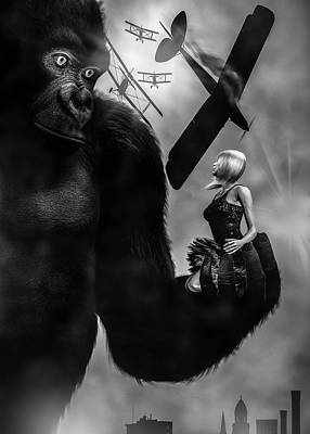 Photograph - Kong by Bob Orsillo