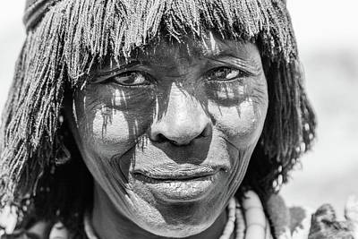 Photograph - Konso Woman  by Mache Del Campo