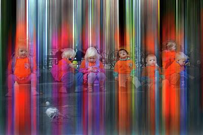 Photograph - Kopenhavn Kindergarteners 2  by Jeff Brunton