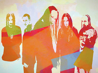Painting - Korn by Dan Sproul