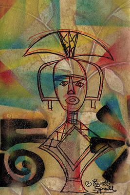 Lady Bug - Kota Reliquary Figure - B by Everett Spruill