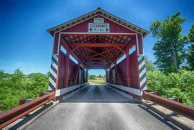 Photograph - Kramer Covered Bridge by Crystal Wightman