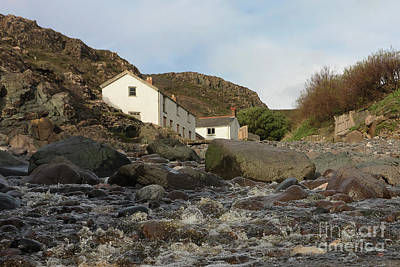 Photograph - Kynance Cottages Cornwall 2018 by Terri Waters