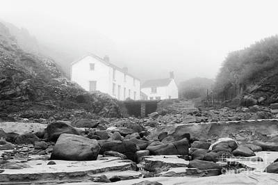 Photograph - Kynance Cove In The Mist 2005 by Terri Waters