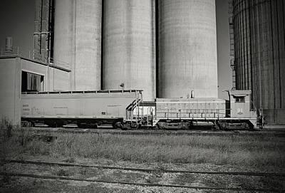 Photograph - L C Sw900 91 B W 55 A by Joseph C Hinson Photography