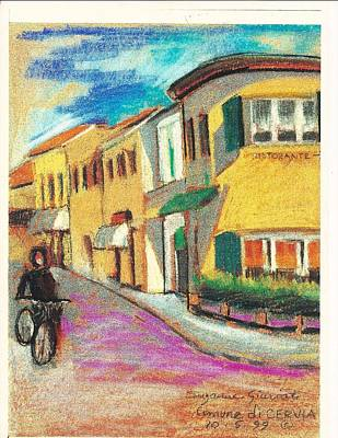 Painting - La Bichicletta by Suzanne Cerny