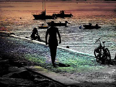 Photograph - La Bici by Alfonso Garcia