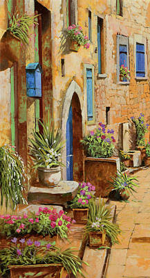 Royalty Free Images - La Buca Delle Lettere Royalty-Free Image by Guido Borelli