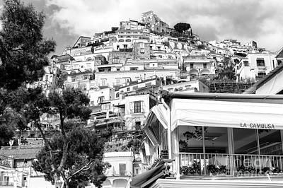 Photograph - La Cambusa Positano by John Rizzuto