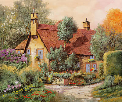 On Trend Light And Airy Royalty Free Images - La Casa Inglese Royalty-Free Image by Guido Borelli