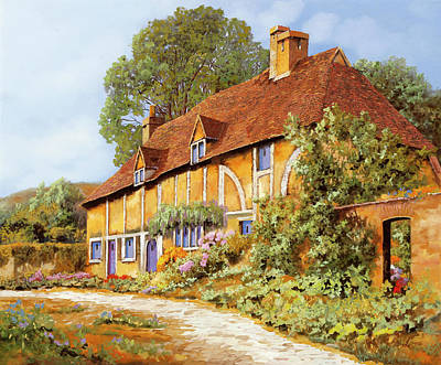 Royalty-Free and Rights-Managed Images - La Cascina Gialla by Guido Borelli