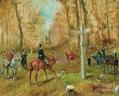Painting - La Croisee Des Chemins, 1883 by Henri de Toulouse-Lautrec