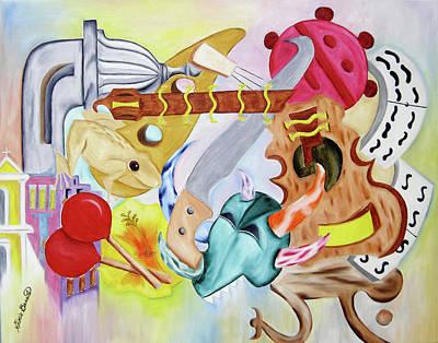 Painting - La Cultura by Gloria E Barreto-Rodriguez