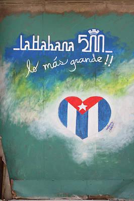 Photograph - La Habana 500 by Paul Rebmann