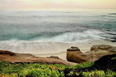 Photograph - La Jolla Surf by Jeffrey PERKINS
