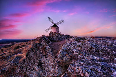 Photograph - La Mancha by Jorge Maia
