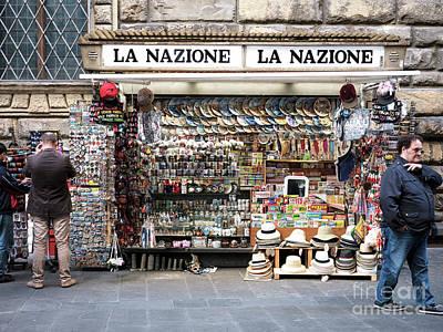 Photograph - La Nazione Firenze by John Rizzuto