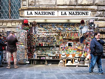 Photograph - La Nazione In Firenze by John Rizzuto