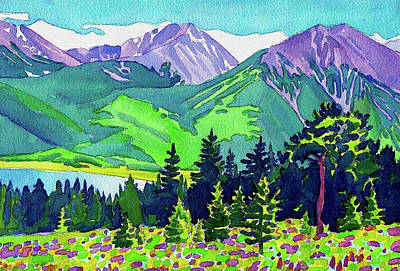 Painting - La Plata Peak by Dan Miller