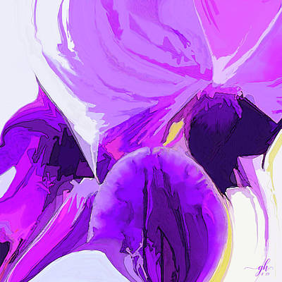 Digital Art - La Primavera by Gina Harrison