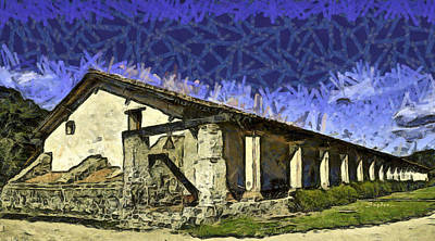 Photograph - La Purisima Mission Bell Abstract by Floyd Snyder