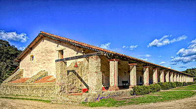 Photograph - La Purisima Mission Bell  by Floyd Snyder