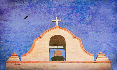 Photograph - La Purisima Mission Bell Lompoc by Floyd Snyder