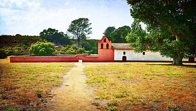 Photograph - La Purisima Mission by Glenn McCarthy Art and Photography
