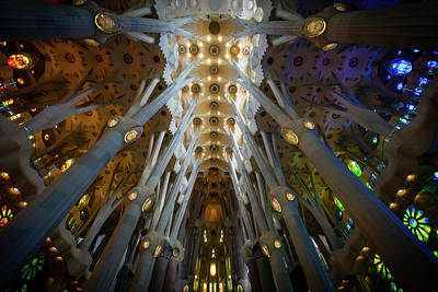 Photograph - La Sagrada by Bill Martin