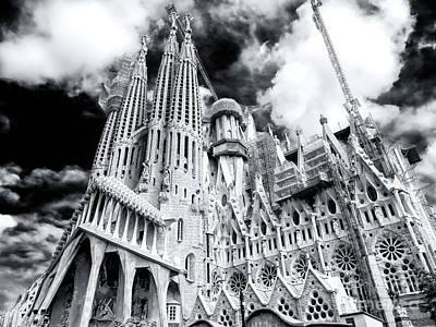 Photograph - La Sagrada Familia Barcelona by John Rizzuto