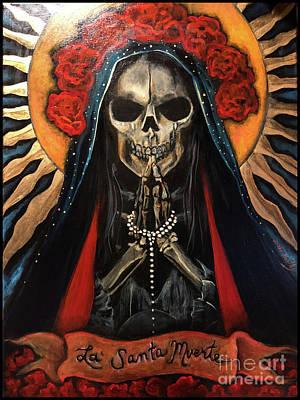 Painting - La Santa Muerte by Dori Hartley