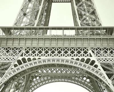 Photograph - La Tour Eiffel Watercolor by JAMART Photography