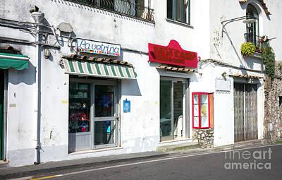 Photograph - La Vetrina Positano by John Rizzuto