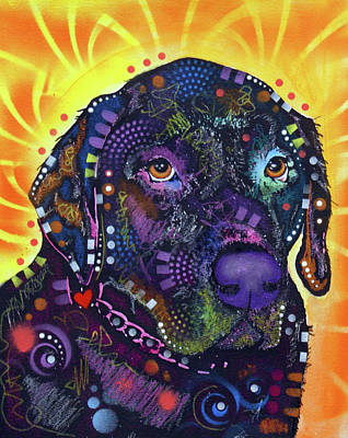 Painting - Labrador  by Dean Russo Art