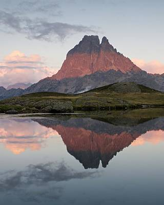 Photograph - Lac Du Miey Sunset by Stephen Taylor