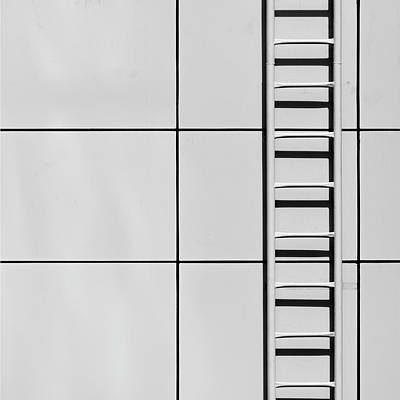 Photograph - Ladder And Shadow by Stuart Allen