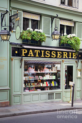 Photograph - Laduree Patisserie Paris by Brian Jannsen