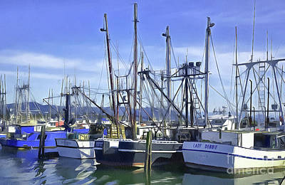 Photograph - Port Of Ilwaco by Susan Parish