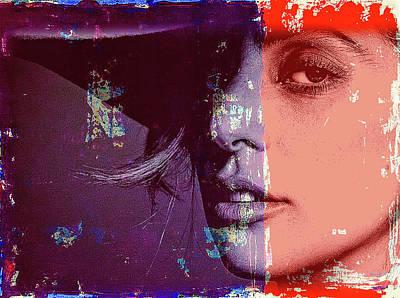 Mixed Media - Lady Gaga by Jayime Jean