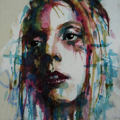 Painting - Lady Gaga by Paul Lovering
