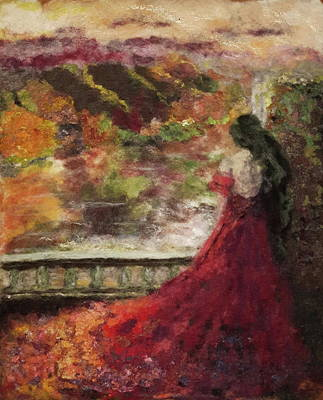 Painting - Lady Herbst by Susanne Weber