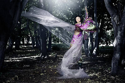 Photograph - Lady In Traditional Costume by Arman Zhenikeyev - Professional Photographer From Kazakhstan
