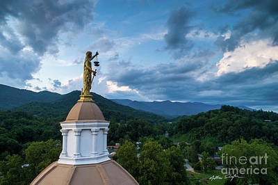 Photograph - Lady Justice 1 - Jackson County NC by Matthew Turlington
