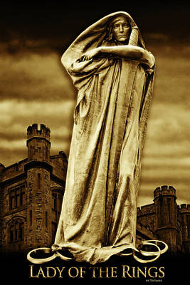 Photograph - Lady Of The Rings by Tatiana Travelways